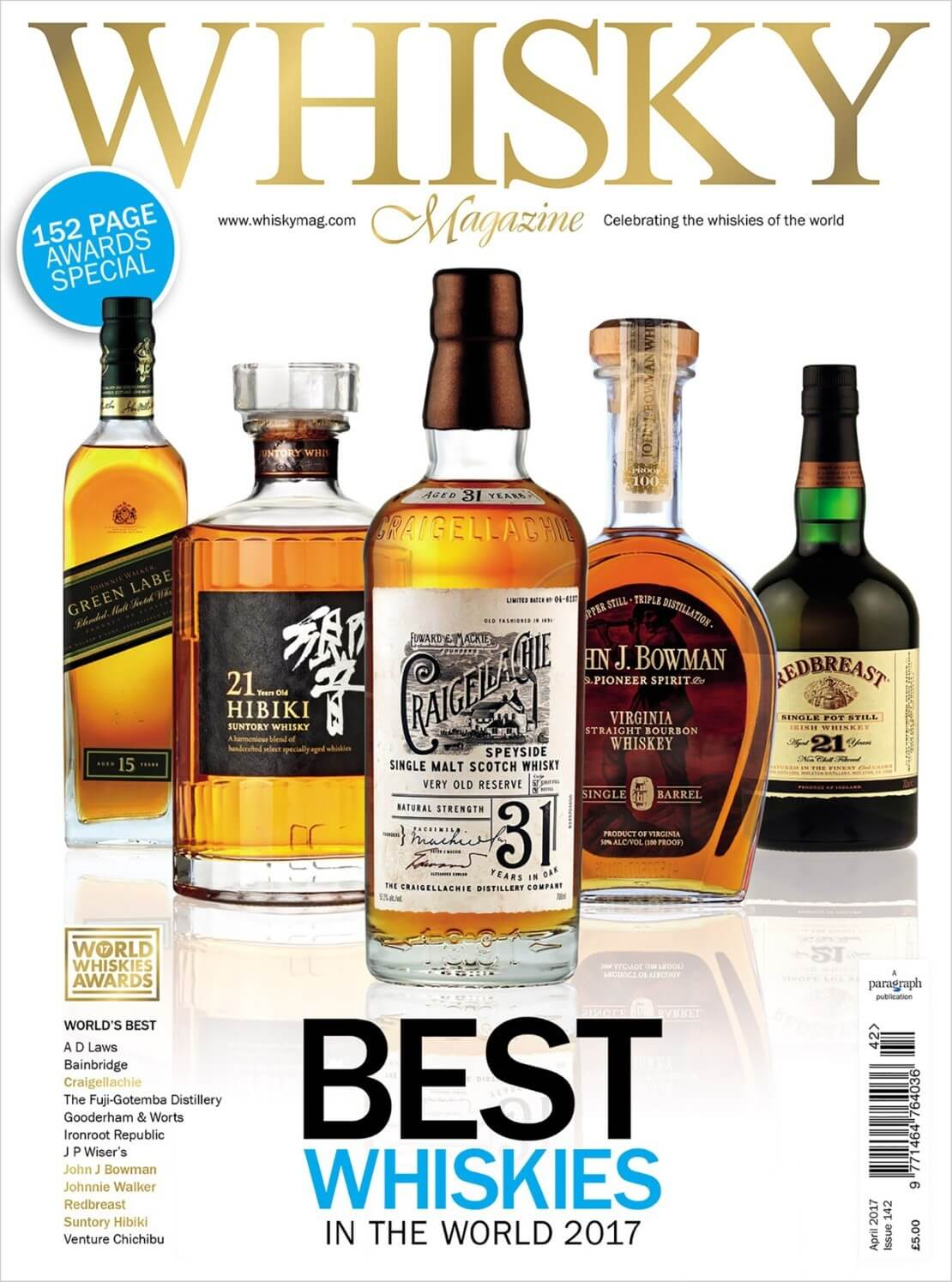World Whiskies Awards Icons of Whisky Global winners Battle of the Blends