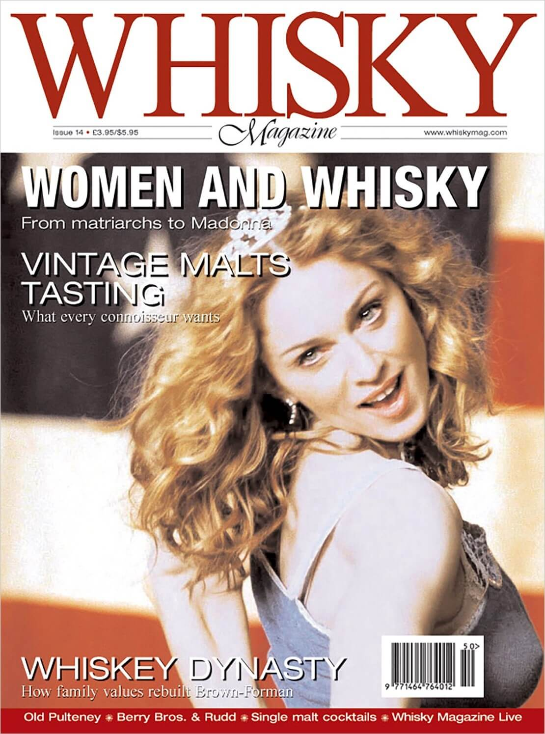 Women and Whisky Old Pulteney Vintage Malts Brown Forman