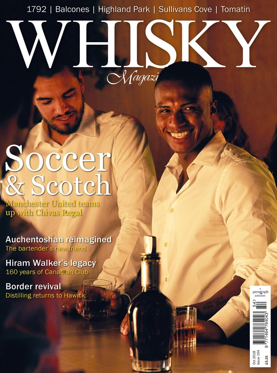Soccer and Scotch  The Borders Distillery  Hiram Walker's Legacy