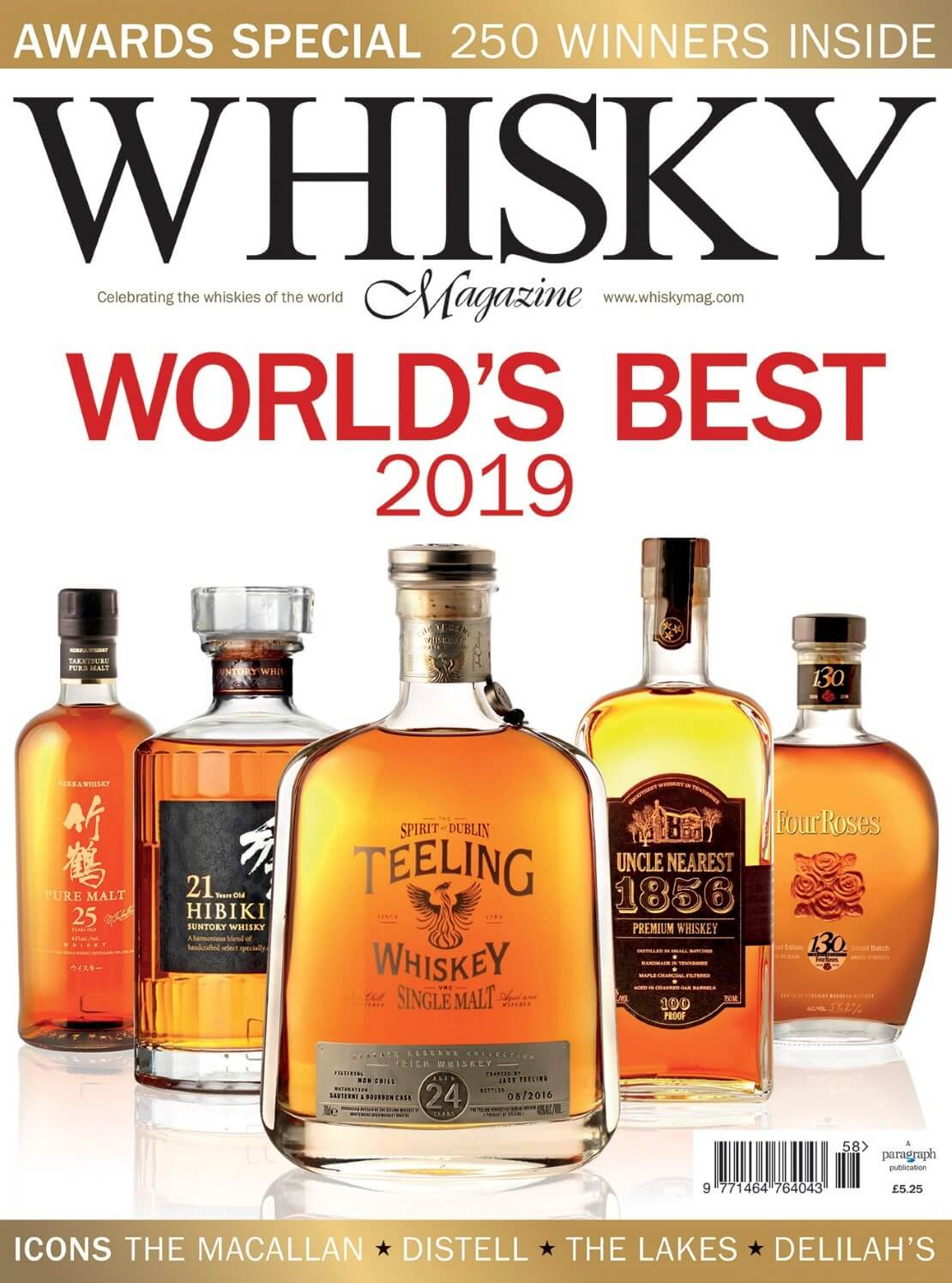 Awards special, World's Best 2019 and Icons of Whisky