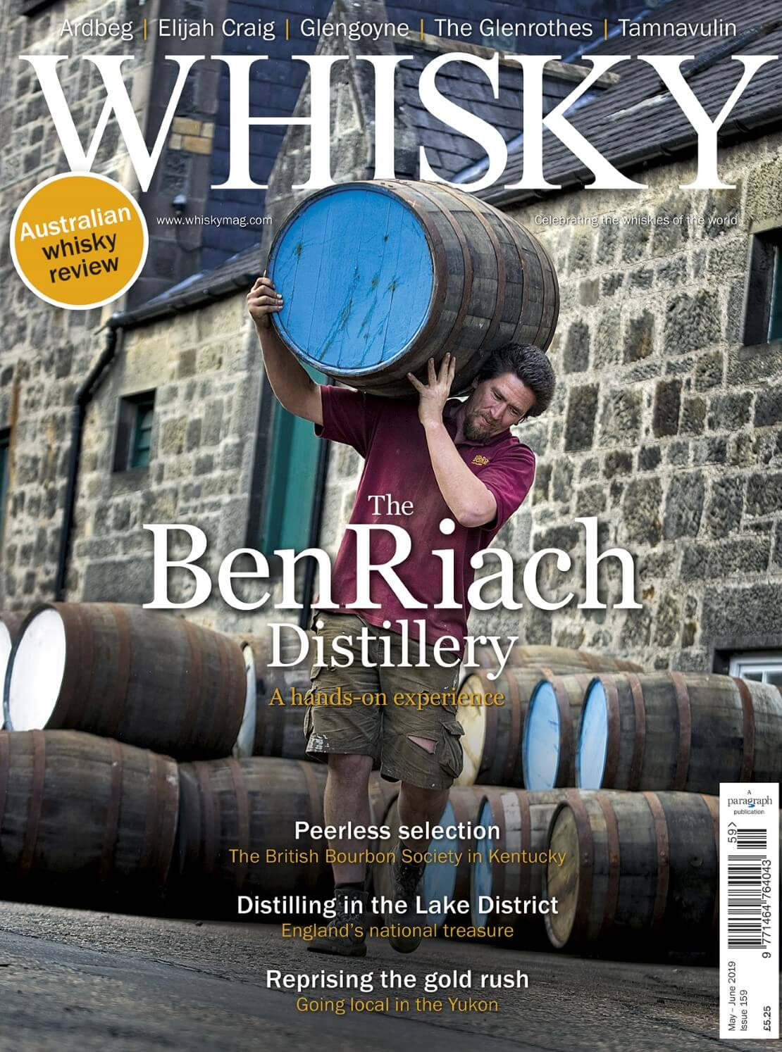 The BenRiach Distillery, Peerless selection, Distilling in the Lake District and Going Local in the Yukon.