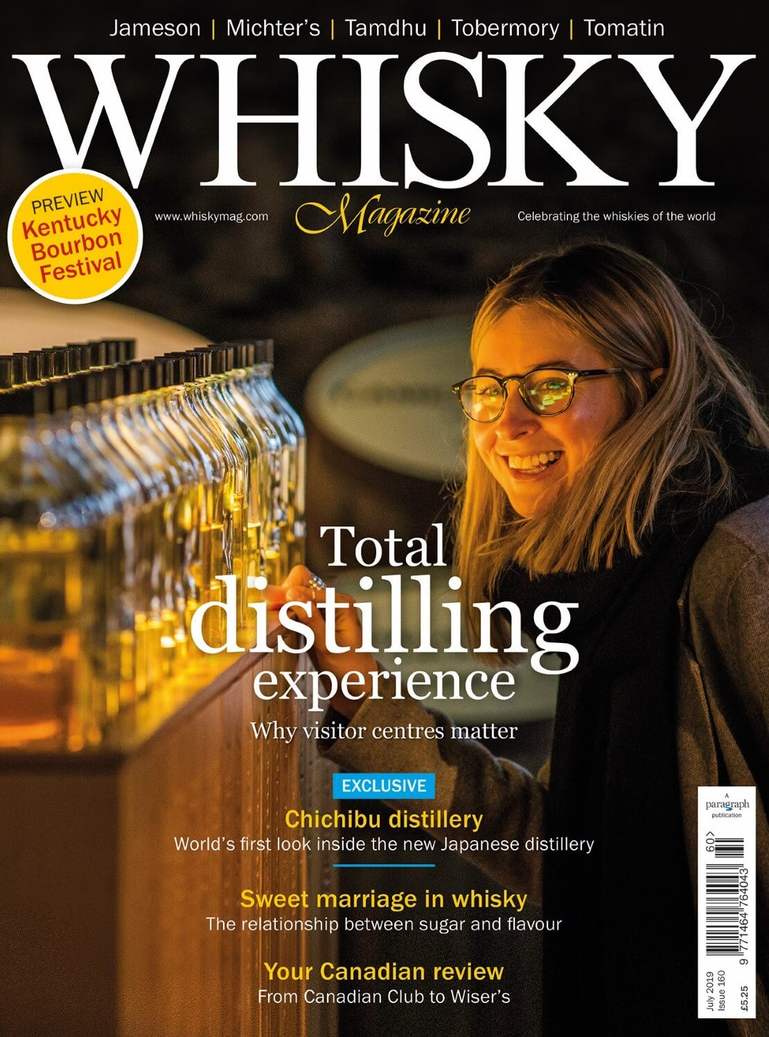 Why visitors centres matter, Chichibu Distillery exclusive, Kentucky Bourbon Festival preview and a Canadian review