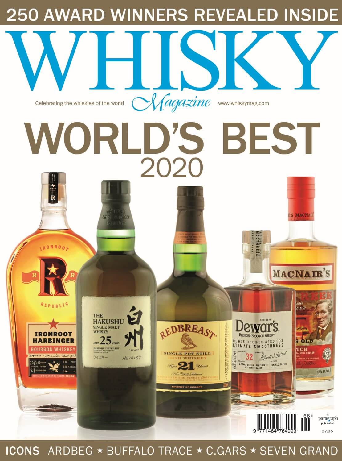 Whisky Magazine presents the World Whiskies Awards 2020 results
