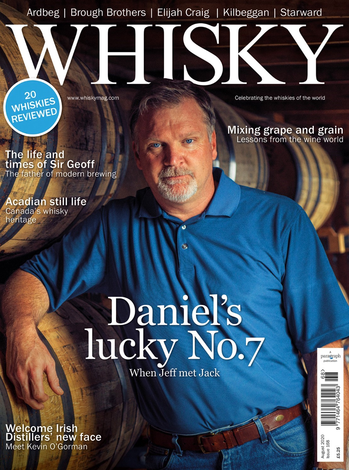 Jeff Arnett from Jack Daniel Distillery's, The world of wine casks, Parisian spirits producer Denis...