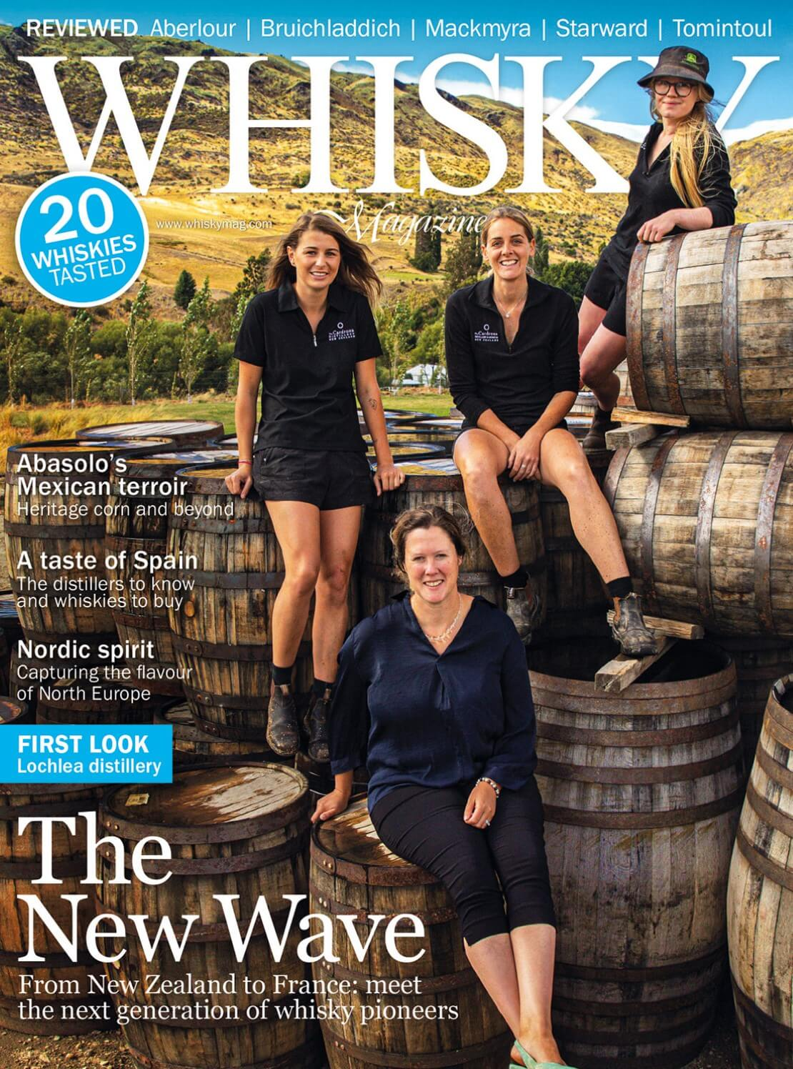 Next Generation Whisky Pioneers A Taste of Spain Capturing the Flavour of North Europe First...
