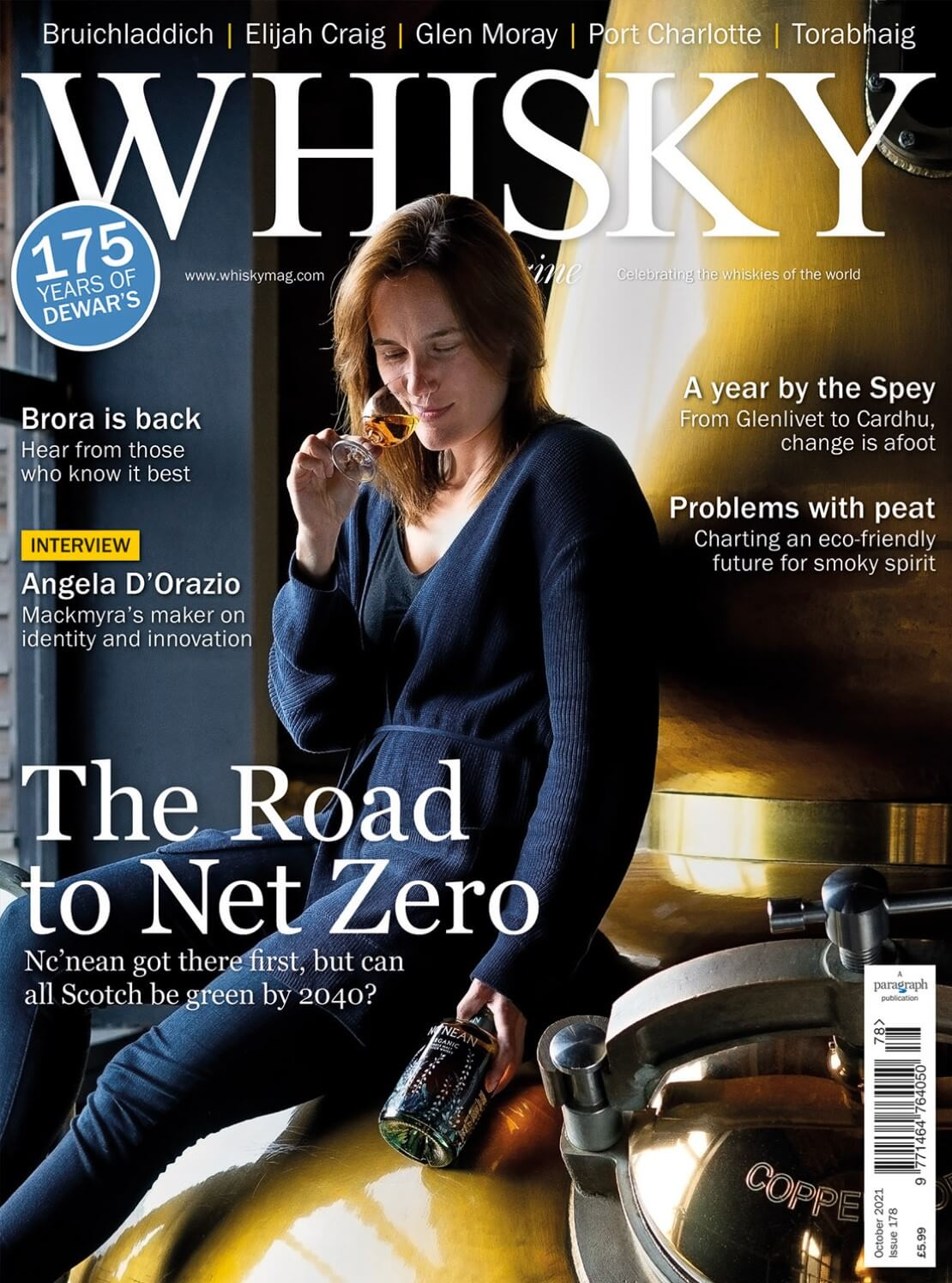 The road to net zero Brora is back  Angela D'Orazio interview A year by...