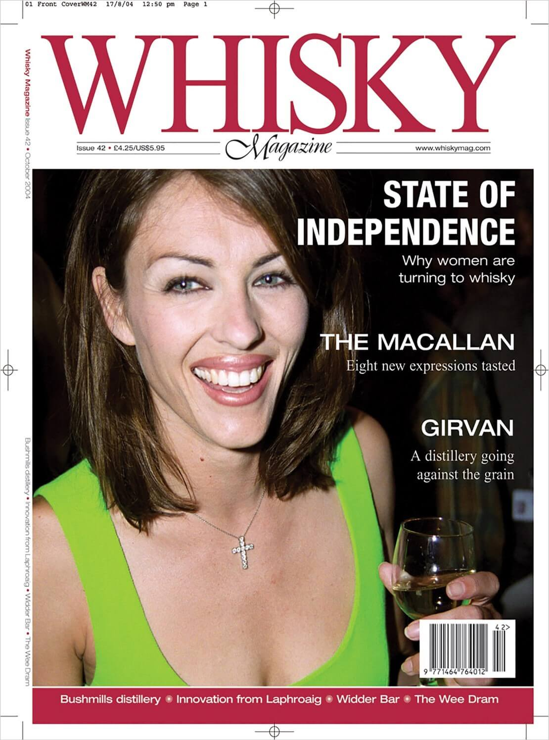 State of Independence The Macallan new expressions Girvan Bushmills Innovation from Laphroaig Widder Bar The...