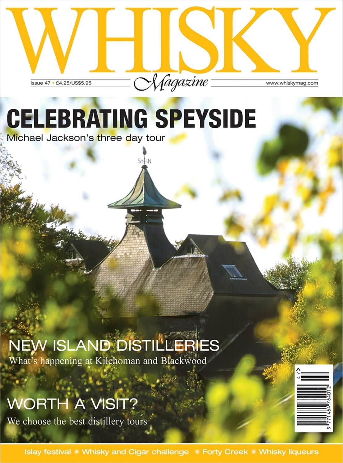 Celebrating Speyside New Island Distilleries Best Distillery tours Islay Festival Whisky and Cigar Challenge Forty...
