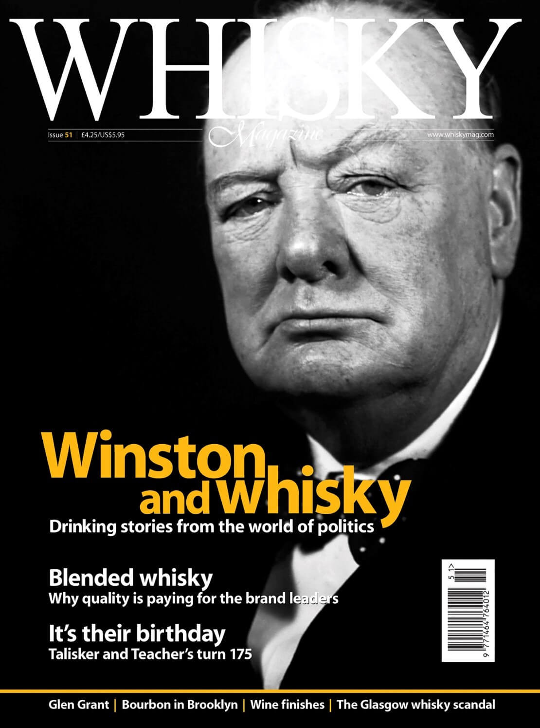 Winston and whisky Blended whisky Talisker Teacher's turn 175 Glen Grant Bourbon in Brooklyn The...