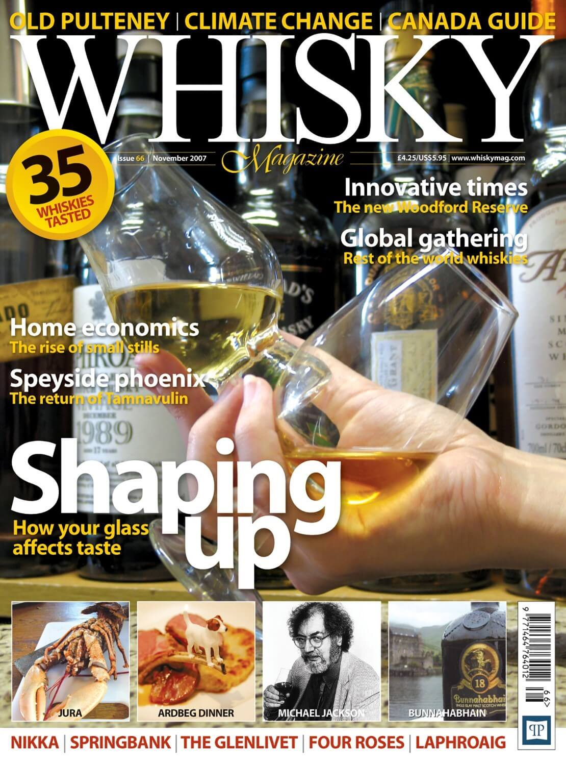 How glass affects your taste Rise of small stills Tamnavulin Woodford Reserve Canada guide