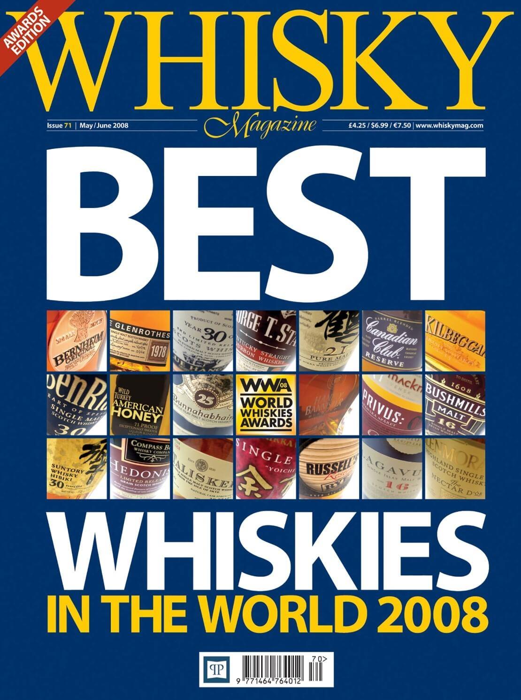 Best Whiskies in the World 2008 Wonderful wood Old Bourbon Lost Distilleries Travel Retail