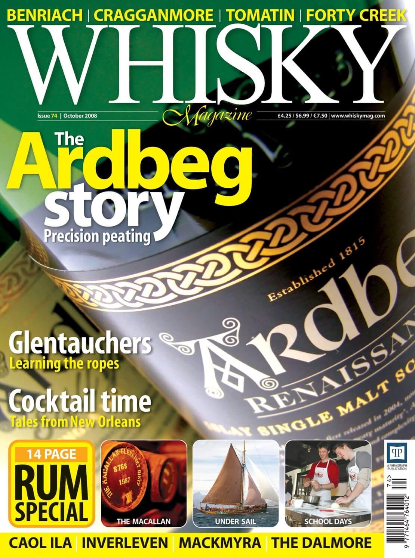 The Ardbeg Story Glentauchers New Orlean Cocktails Rum Special