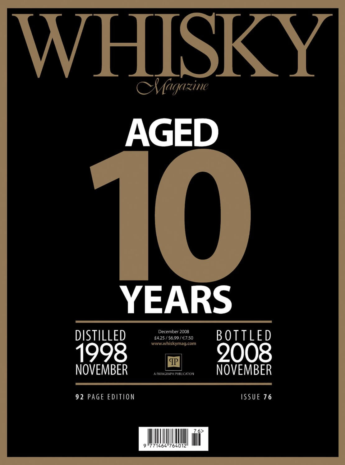 Whisky Magazine Aged 10 Years Grain whisky comeback Top 10 lost distilleries Visitors guide to...