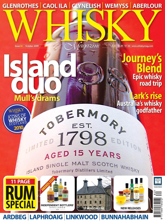 Mull's drams Journey's Blend Lark's rise Icons of Whisky Scotland Rum Special Ardbeg Laphroaig Linkwood Bunnahabhain