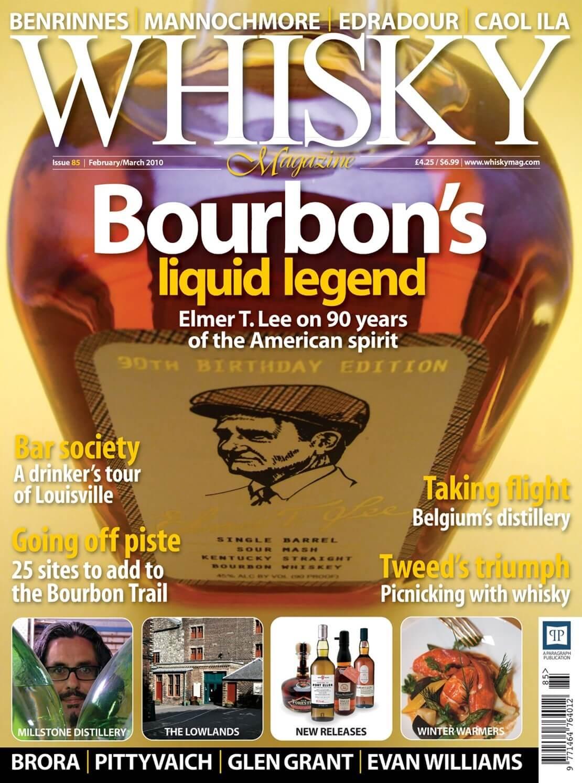 Bourbon's Liquid Legend Elmer T. Lee Drinker's tour of Louisville Millstone distillery The Lowlands