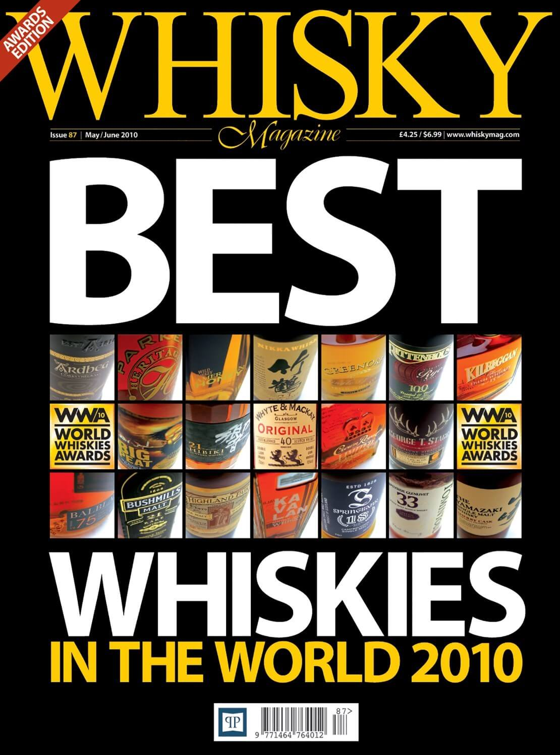 Best Whiskies in the World 2010 Speyside Chivas Bros. Speyside distilleries