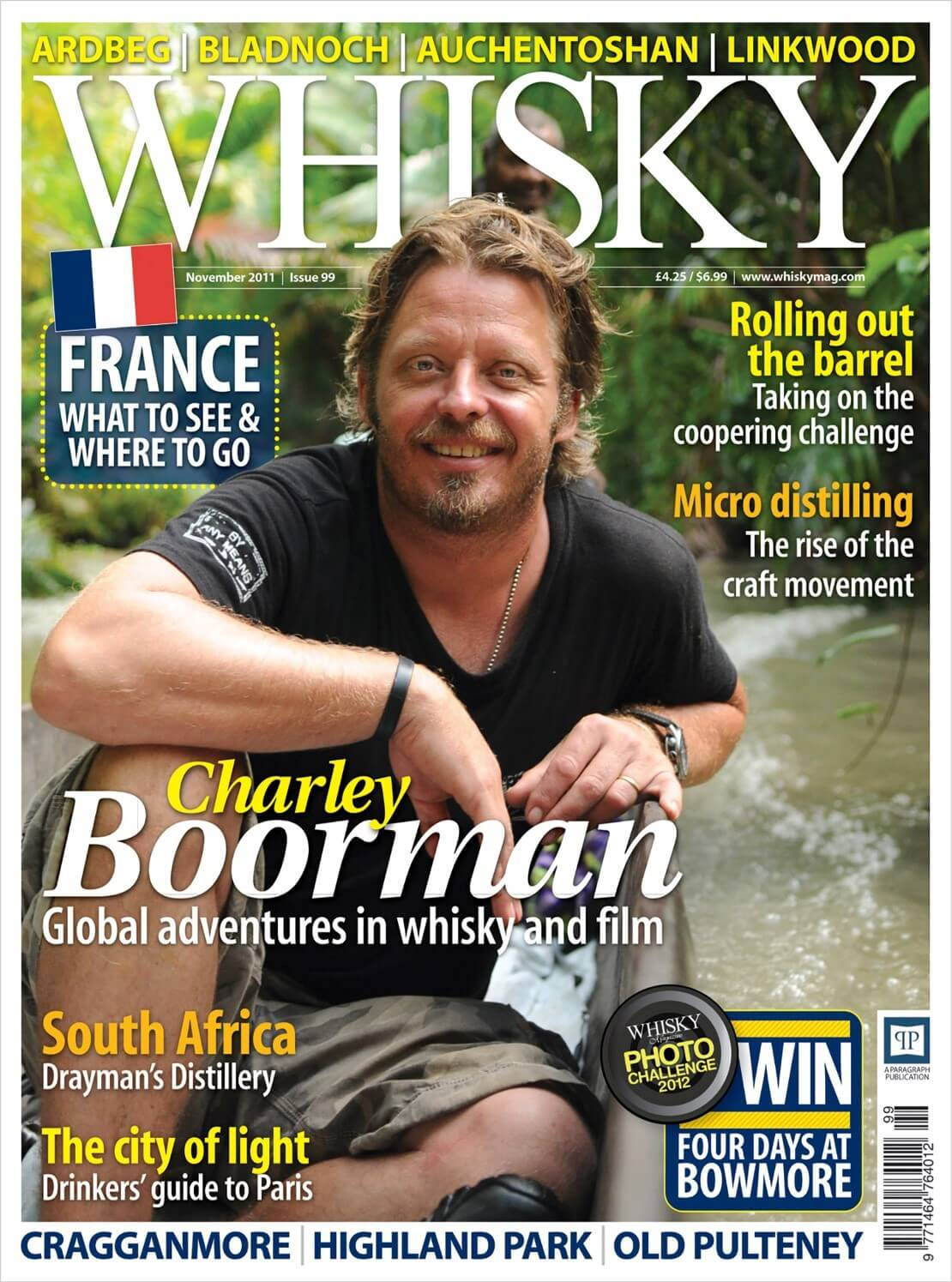 Charley Boorman Drayman's Distillery Drinker's guide to Paris Micro Distilling